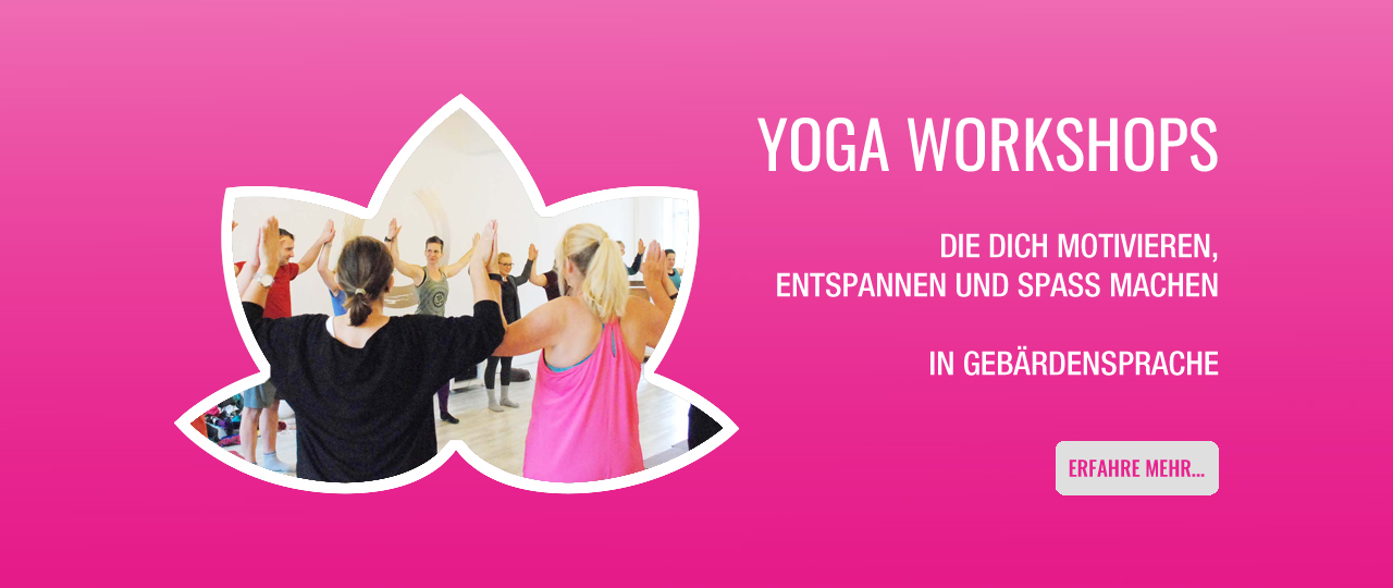 Yoga Workshop Gebärdensprache